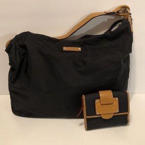 Kate Spade Bundle ⭐️ Nylon & Leather Bag & Wallet